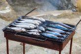Gegrillte Fische in Novigrad (Dalmatien)