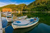 Boote in Novigrad (Dalmatien)