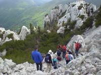 Velebit Gebirge