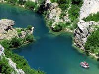 Fluss Zrmanja