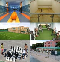 Sportzentrum Marina Frapa in Rogoznica
