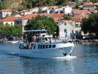 Ausflugboot Krka