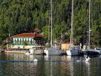 Boote im Hafen von Skradin
