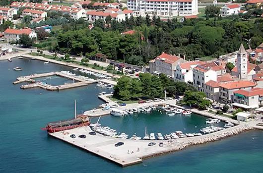 Sveti Filip i Jakov, Dalmatien, Kroatien