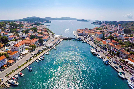 Tisno, Kroatien