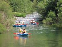 Zadar - Kajaktour Fluss Zrmanja