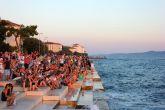 Zadar - Meeresorgel Sonnenuntergang