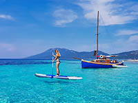 Stand up paddling, Kroatien