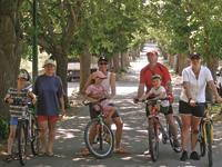 Blato - Radfahren Allee Blato