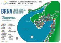 Karte Brna