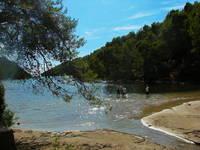 Strand Bucht Istruga