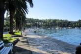 Die Strandpromenade von Cavtat lädt zu einem langen Spaziergang ein