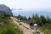 Reiten Sie durch die schöne Umgebung Cavtat´s entlang der Küste von Konavle
