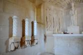 Das Mausoleum der Familie Racic von Innen