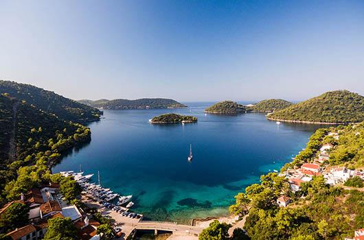 Insel Lastovo, Kroatien