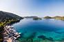 Bucht, Insel Lastovo, Kroatien