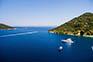 Blick von der Insel Lastovo in Kroatien