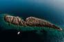 Kleine Insel von Lastovo, Kroatien