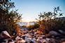 Kiesstrand, Insel Lastovo, Kroatien