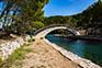 Brücke, Insel Mljet
