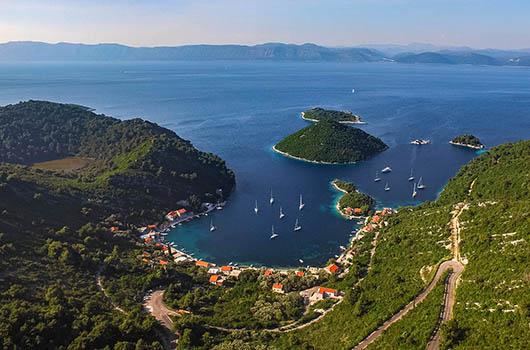 Insel Mljet, Dalmatien, Kroatien