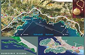 Mlini - Zupa Dubrovacka Übersichtskarte