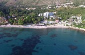 Mlini - Luftaufnahme Strand Astarea