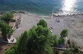 Luftaufnahme Strand Podmaslovo - Plat