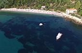 Plat - Luftaufnahme Strand Smokovjenac