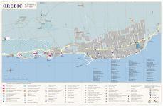 Orebic - Stadtplan