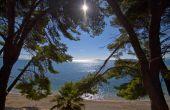 Peljesac - Blick auf Strand