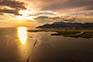 Ploce - Sonnenuntergang