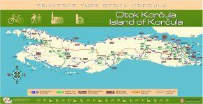 Vela Luka - Karte Insel Korcula
