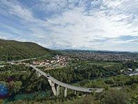 Nova Gorica, Soca Tal, Slowenien