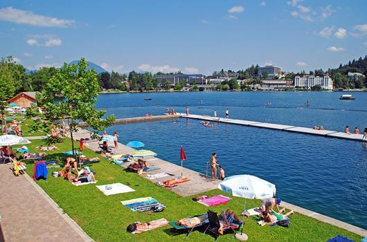 Bled - Strandbad Grajsko kopalisce