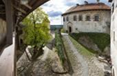 Bleder Burg - Eingangsbereich