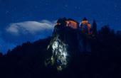 Nachtaufnahme Bleder Burg