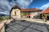 Obere Terrasse & Kapelle