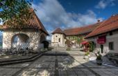 Bleder Burg - Obere Terrasse