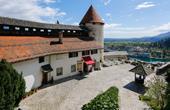 Bleder Burg - Burghof & Untere Terrasse