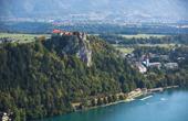 Burg Bled auf Fels