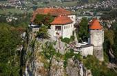 Bleder Burg - Seeseite