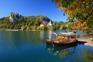 Panorama - Bleder Burg und See