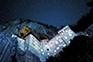 Nachtaufnahme Burg Predjama