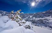 Winterlandschaft Alpen