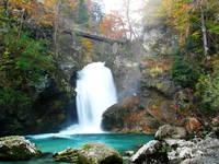 Vintgar Klamm - Wasserfall Sum