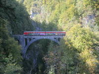 Vintgar Klamm - Eisenbahnbrücke