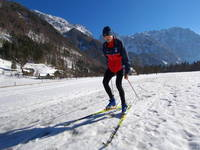 Skilanglauf Logar Tal