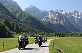 Motorradtour ins Logar Tal