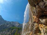 Wasserfall Rinka - Logar Tal